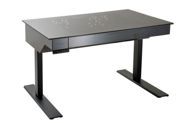 Lian Li's first standing desk is also a computer