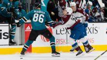Sharks' Blichfeld suspended for head shot on MacKinnon