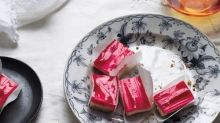 Cheesecake Squares to Ruin You for All Other Rhubarb Desserts