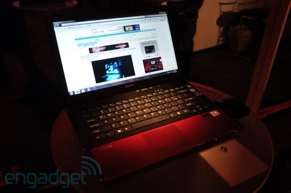 VAIO CW hands-on