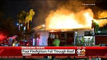 4 Firefighters Injured After Falling Through Roof Of Abandoned Casino In Cudahy