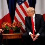 Trump, France's Macron to discuss Iran nuclear deal next week