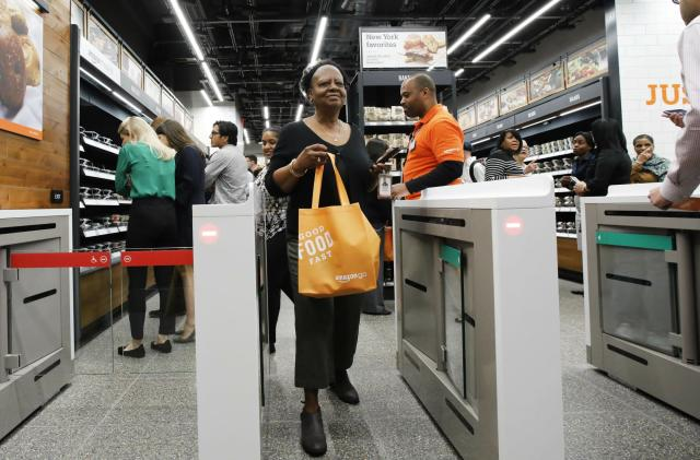 Amazon opens its second Go store in New York