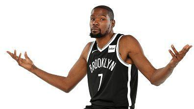 Kevin Durant is not a fan of looking at graphs in NBA analysis