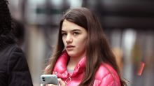 Suri Cruise Goes High-Low in a $1,200 Puffer Jacket With Ugg Boots in NYC