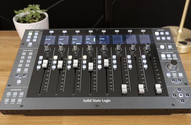 SSL's UF8 DAW controller is a luxury in search of an audience