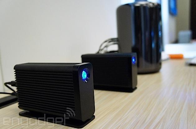 LaCie Little Big Disk Thunderbolt 2 wields dual 500GB SSDs, Intel's latest port tech