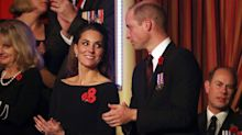 Kate Middleton: Feo gesto a su marido Guillermo en televisión