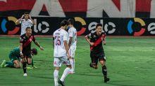 Muriel falha duas vezes, e Fluminense é eliminado da Copa do Brasil para o Atlético-GO