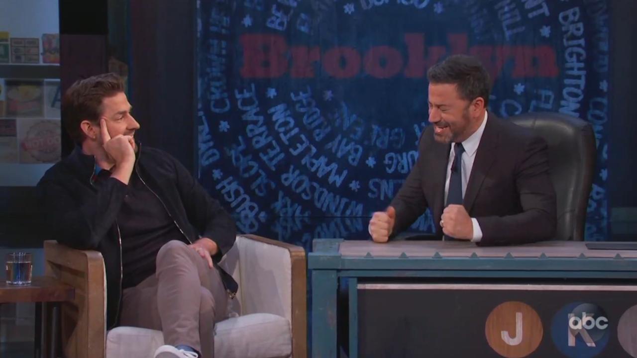 John Krasinski Jimmy Kimmel prank war [Video]