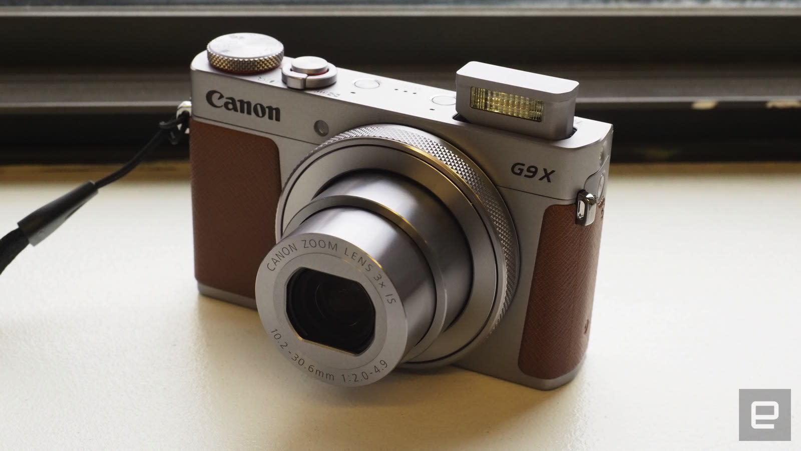 Canon G9X Mark II compact camera