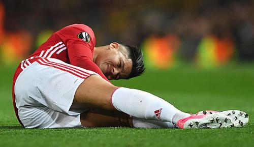 Europa-League: Manchester United: Rojo vergrößert Mourinhos Abwehrsorgen