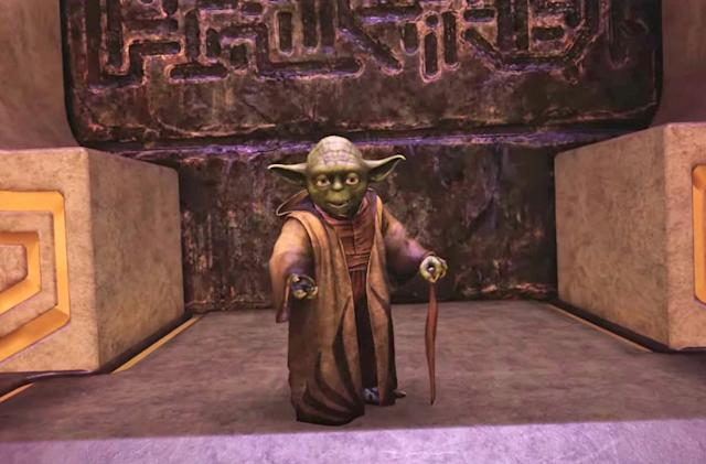 Frank Oz returns as Yoda in 'Star Wars: Tales from the Galaxy's Edge'