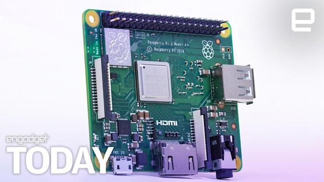 A cheaper, smaller Raspberry Pi 3 is now available