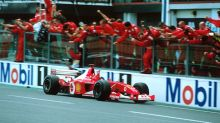 Michael Schumacher's championship 2002 Ferrari F2002 set for auction