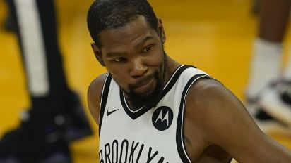 KD leaves an MVP off his list of top 5 teammates