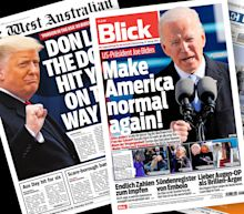 Photos: How newspapers around the world covered Biden's inauguration