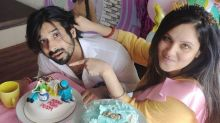Kunal Verma Organises Surprise Baby Shower For Puja Banerjee With A Cake That Said 'Push Puja Push'
