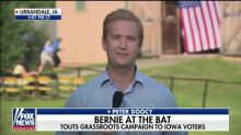 Joe Biden gets defensive about crowd size in Iowa