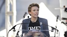 Scarlett Johansson calls out James Franco at the Women's March: 'I want my pin back'