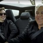 Watch Jay Leno and Elon Musk Take the Tesla Cybertruck for a Spin in Los Angeles