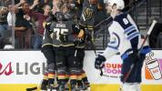Vegas seizes control of Western finals