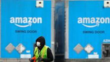 Leaked memo: Amazon is now recommending the workers sorting and moving your online orders wear face masks, but will have only 'limited' quantities