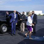 The Latest: Jacob Blake speaks by phone with Joe Biden