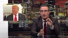 John Oliver Reveals The Only Way 'Uncooperative Toddler' Trump Leaves Office