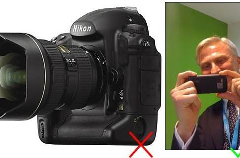 CE-Oh no he didn't!: Nokia's Anssi Vanjoki thinks cameraphones are about to make SLRs obsolete