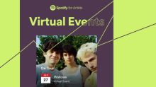 Spotify Posts Virtual Concert and Event Listings Via Ticketmaster and Songkick