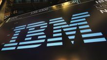 IBM sinks on fifth sequential quarter of falling sales