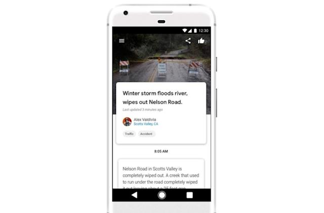 Google Bulletin is powered by your hyperlocal news updates