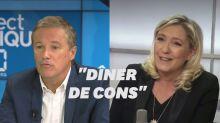 """La primaire, """"un dîner de cons""""? Le Pen répond à Dupont-Aignan"""