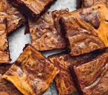 Pumpkin Cheesecake Brownies, The Perfect Thanksgiving Dessert