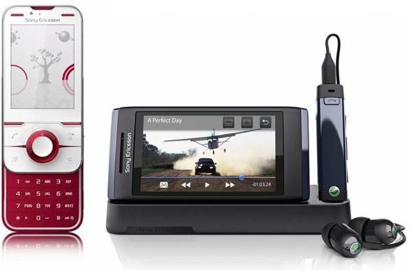Sony Ericsson adds Yari and Aino to its multimedia line
