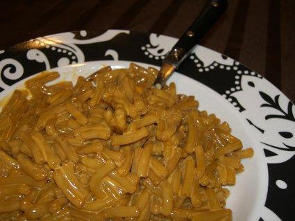 Well Fed Buff: Caf'd macaroni and cheese