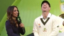 'Less about that': David Warner's hilarious personal interview slip-up