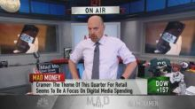 'Facebook's stock is bottoming here,' says Jim Cramer