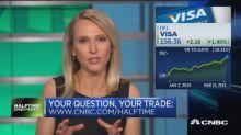 The trades on Visa, Electronic Arts, Northrop Grumman & more in #AskHalftime