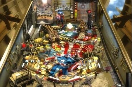Pinball FX 2 gets Captain America table on Steam
