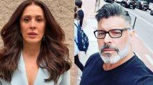 """Claudia Raia lembra casamento com Alexandre Frota em livro: """"Mulherengo compulsivo"""""""