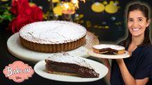 Tara's Chocolate Fondant Pistachio Tart Recipe