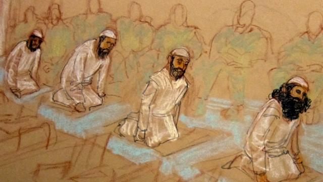 Gitmo terror trial: Defendants ignore judge
