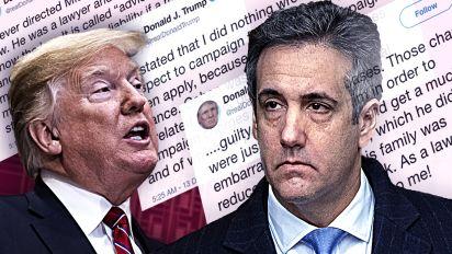 Trump denies he 'directed' Cohen to break law