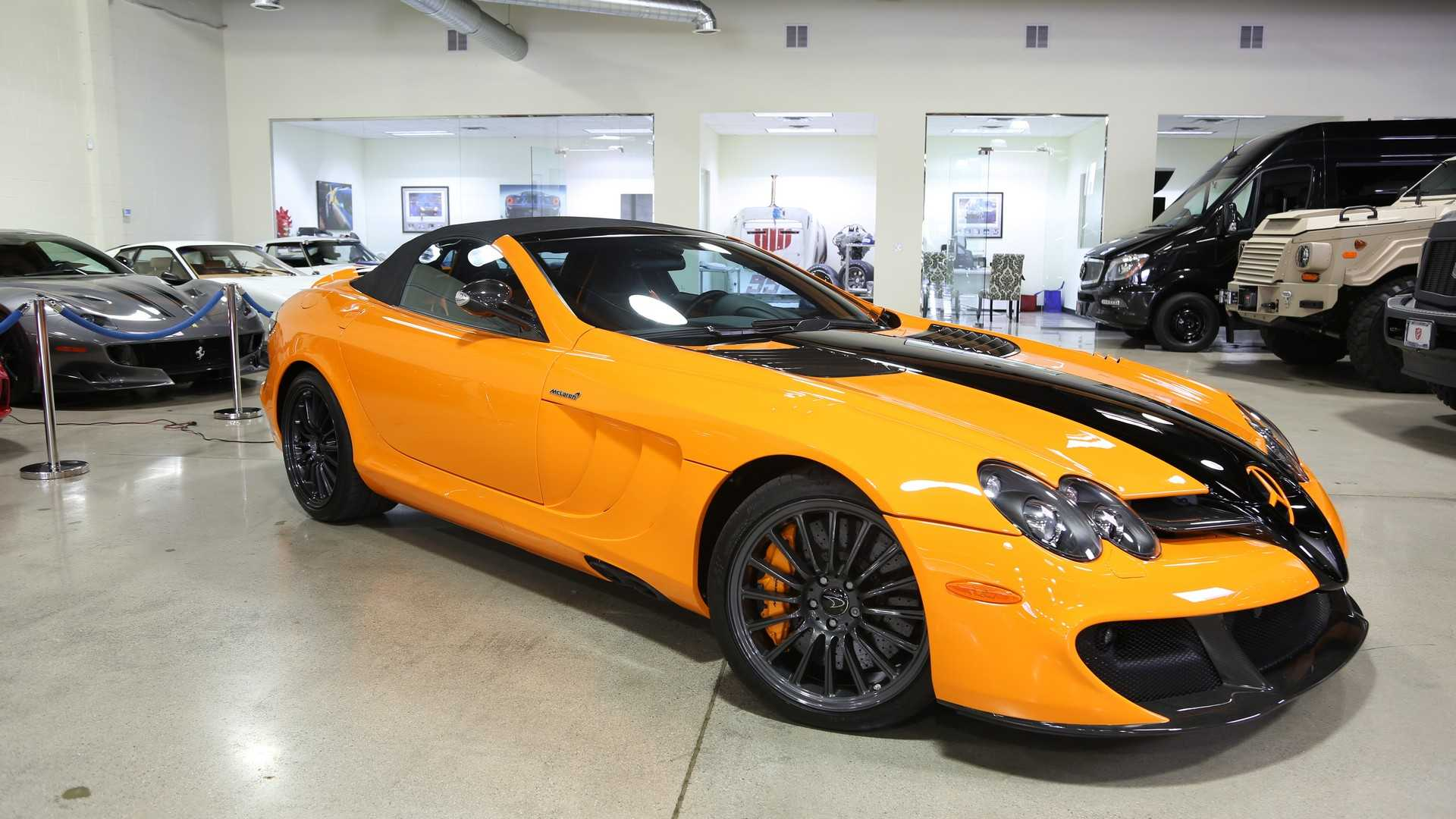 c174c21320895 One-off Mercedes SLR McLaren 722S can be yours for a cool  1M