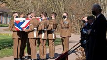 WWII plane fly-past honours Captain Tom Moore at funeral