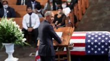 John Lewis mourned as 'founding father' of better America