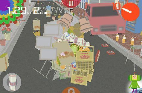 I Love Katamari rolls (literally) into the iPhone's App Store