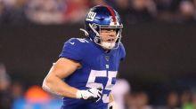 Giants' second-round pick McKinney breaks left foot